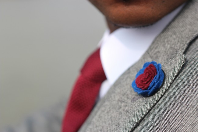 dapper lapel pin